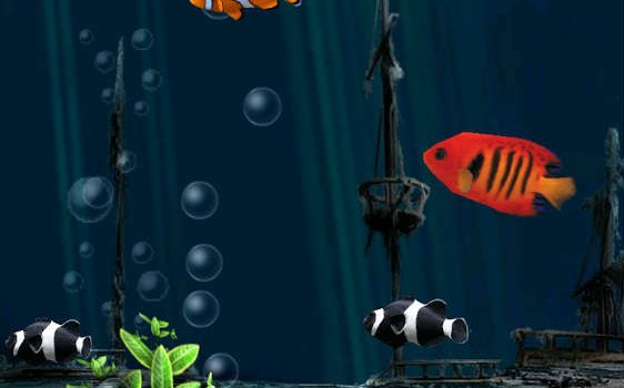 Aquarium Live Wallpaper - Bilde 01