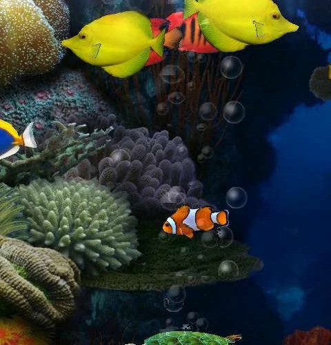 Aquarium Live Wallpaper - Bilde 07